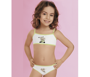 Art. 250 – Set Top and Cotton and Lycra vedetina baby print