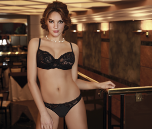 Art. 2660 – Set Tricot with lace and push up through vedetina